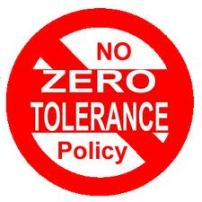 This means there is no tolerance for zero, right?